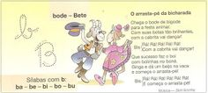 Pequenos textos para alfabetização com todas as letras do alfabeto! - ESPAÇO EDUCAR