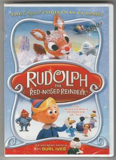 Rudolph the Red-Nosed Reindeer DVD ~ Fullscreen ~ Christmas Classic ~ Brand New!