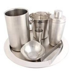 "Magickart offering ""Zain"" branded stainless steel bar sets online with free shipping in India."