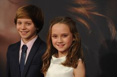 "Isabelle Allen and Daniel Huttlestone Photo - ""Les Miserables"" New York Premiere"