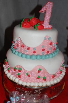 Strawberry Party :: cake