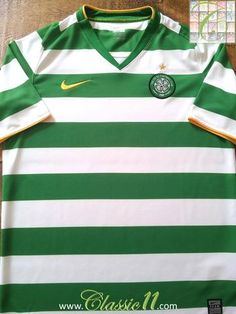 Relive Celtic's 2008/2009 season with this original Nike home football shirt.