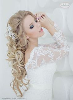 Elegant wedding hairstyles from Websalon Weddings