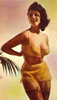 Eve Eden, vintage lingerie 1950s