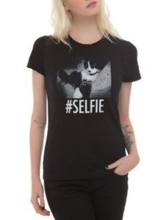 Cat Selfie Girls T-Shirt ($19.88)