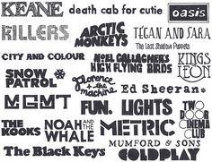 Just a few bands that make life worth living