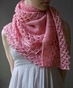 Blij dat ik brei: Prachtige sjaal