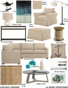 jill seidner | interior design: concept boards | decor inspiration