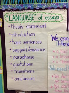 Literary essay writers workshop