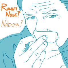 Runny nose - by Livia Prudilova - Anglicky efektívne