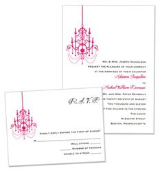 Janelle Wedding Invitations