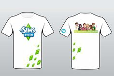 The Sims Social T-shirt by fiiee on DeviantArt