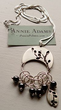 stitch markers necklace.... cute