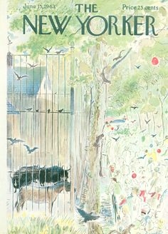 The New Yorker - Saturday, June 15, 1963 - Issue # 2000 - Vol. 39 - N° 17 - Cover by : Garrett Price