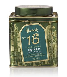 Harrod's No 16 Ceylon Tea
