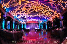 Room lighting - Room transformation - Bar bat mitzvah - Lighting design - DB Creativity - laura@dbcreativity.com