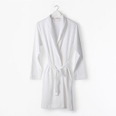 Cotton Lace Robe - Woman - Loungewear | Zara Home United States of America