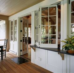Windows for Kitchen in Screen Porch