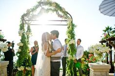 California At-Home Wedding: Katie 's Family Home Wedding in La Jolla   Intimate Weddings - Small Wedding Blog - DIY Wedding Ideas for Small and Intimate Weddings - Real Small Weddings