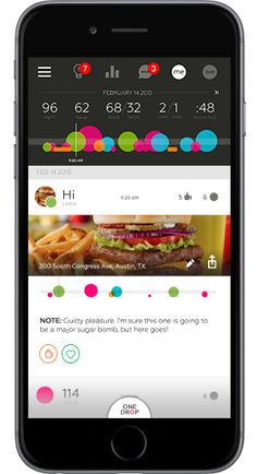 OneDrop - Diabetes app to provide an easier and more convenient way to manage your measurements and keep all your data for Glucose, Food, Meds and Activity in one place.