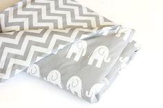 Baby Bedding  Reversible Doona / Duvet Cover  White by raenne