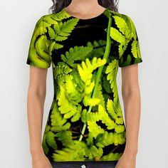 Fern Shirt | All Over Print Shirt | Unisex shirts | Woodland Shirt | Green Shirt…  -- Join DigiColorCreations.com today and make custom-designed items for your Etsy shop!