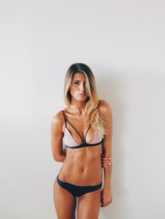 Her hair and body.