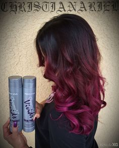 Love the Pravana ChromaSilk Vivids Shampoo and Conditioner. Makes my hair soft instead of dried out after getting colored.