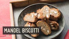 Diese Mandel Biscotti sind herrlich zum Kaffee - Nachmittags oder zum Frühstück. Glutenfrei, weizenfrei, laktosefrei, eifrei. Knabbern ohne schlechtes Gewissen!
