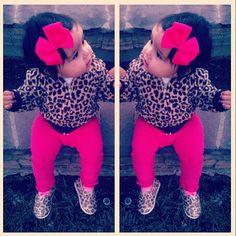 Precious<3 Cute Outfits For Kids, Cute Kids, Cute Babies, Baby Kids, Baby Outfits, Toddler Swag, Toddler Girl Style, My Baby Girl, Baby Love