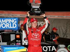 Christopher Bell overcomes early spin to win Truck race at Kentucky