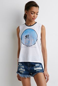 ET Graphic Muscle Tee | Forever 21 - 2000134223