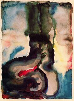 Georgia O'Keeffe, Portrait No. III