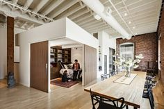 idustrial and earthy design | Industrial Apartment - Earth-tones + White | Apartment Design Ideas