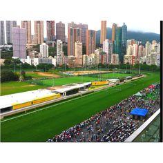 Hong Kong Jockey Club (Happy Valley)... I would lose so much money gambling here haha