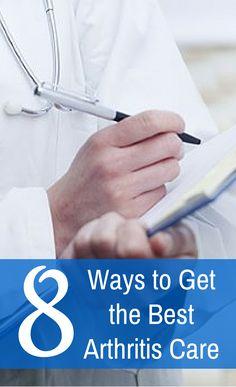 Ways to Get the Best Arthritis Care