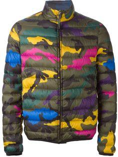 Valentino Multicolor Reversible Camouflage Jacket