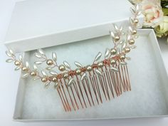 Hair Comb Wedding, Wedding Hair Pieces, Hair Combs, Bangles, Bracelets, Wedding Hairstyles, Pearls, Trending Outfits, Unique Jewelry