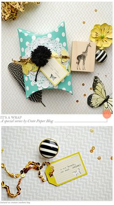 Site for Sore Eyes: Crate Paper - It's a WrapSeries - Home - Creature Comforts - daily inspiration, style, diy projects + freebies