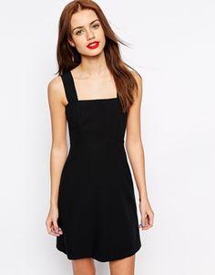 New Look Crepe Pinny Dress
