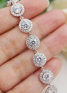 Beautiful bridal bracelet