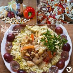 Kuchařka ze Svatojánu: ZELENINA S KEŠU VE WOKU