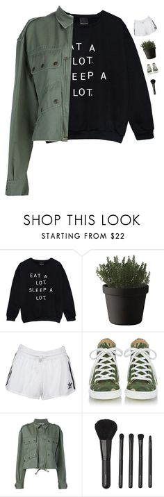 """Casual Sunday"" by genesis129 ❤ liked on Polyvore featuring Muuto, adidas Originals, Faith Connexion and Witchery"