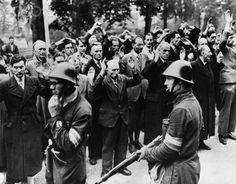 Dutch Patriots Herding Nazis Collaborators in the Liberated Town of Nijmegen, 1944 - HU024855 - Rights Managed - Stock Photo - Corbis