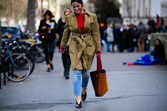 Paris Fashion Week Street Style Is Making Even Vetememes Look Chic Photos | W Magazine