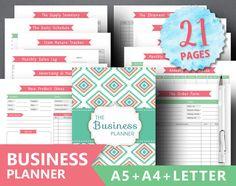 Business Planner Printable: BUSINESS BINDER by SquirrelPlanner