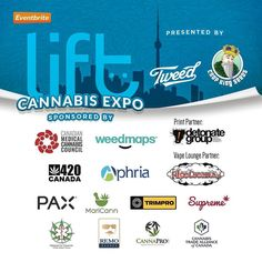 LIFT CANNABIS EXPO #TORONTO 2016 May 28  29th 2016 Presented by @tweed_inc & @cropkingseeds With sponsorship from @cdnmcc @weedmaps @aphriainc @paxvapor @supremepharma @marijuana_for_trauma @remonutrients #Maricann #CTAC #Trimpro #CannaPro #420Canada  Print Partner - @detonategroup Vape Lounge Partner - @pipedreamzinc by liftcannabis #Prismalabs
