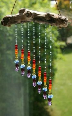 Might Be A Good Idea To Hang In Garden Keep Birds Critters Away Diy Wind Chimesshell