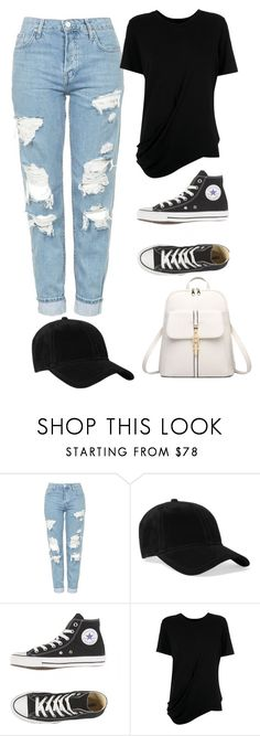 """Untitled #106"" by mimixoxomwah on Polyvore featuring Topshop, rag & bone and Uma 