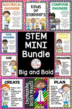 FREE STEM / STEAM POSTERS ...Follow for